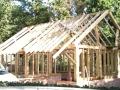 New build house oak framed