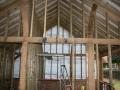 Oak framed building