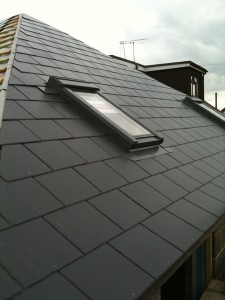 New roof with velux windows | Construction and Project Management | Lloyd Bowers Ltd, Chelmsford, Essex